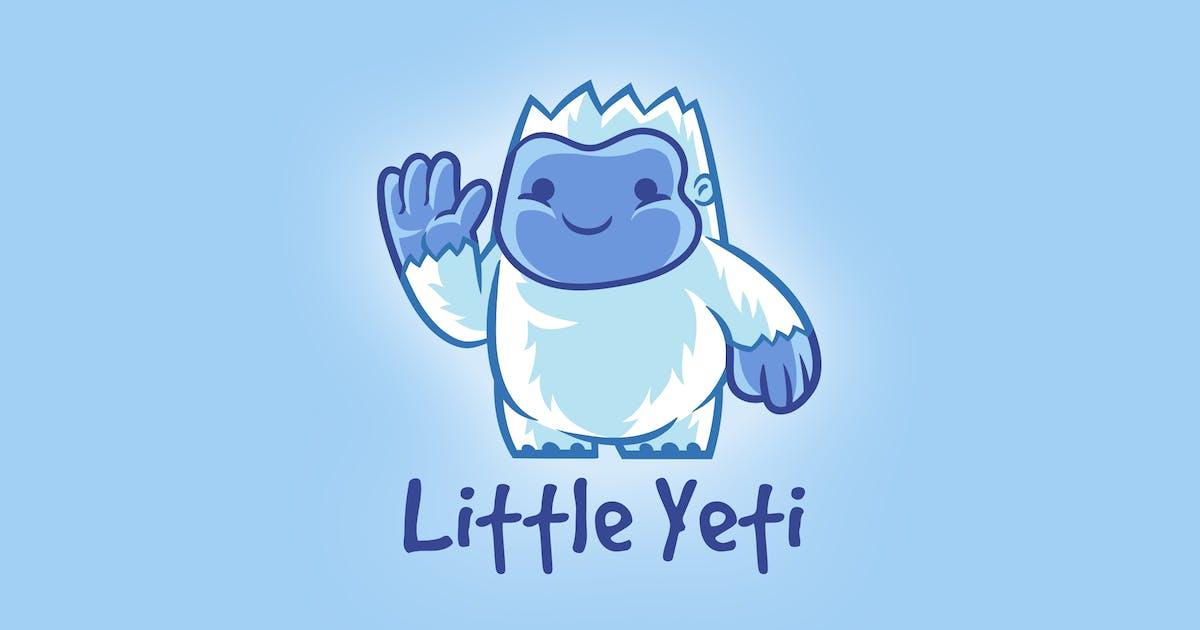 Download Cartoon Little Yeti Mascot Logo by Suhandi