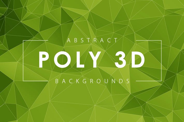Thumbnail for Abstract 3D Poly Backgrounds