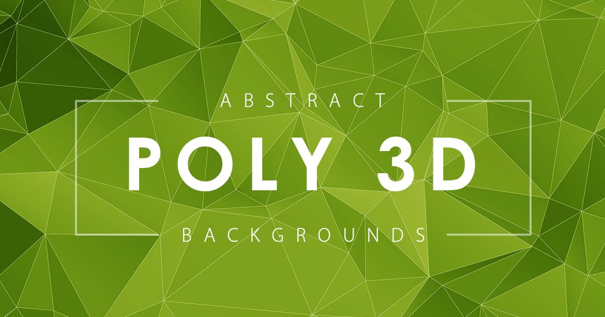 Download Abstract 3D Poly Backgrounds by M-e-f