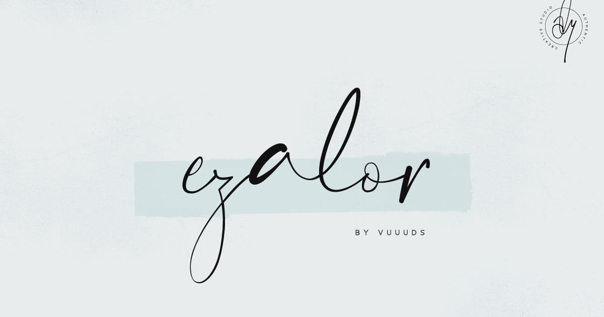 Download Ezalor Font by vuuuds