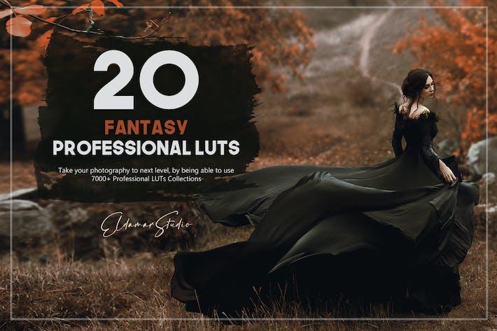 20 Fantasy LUTs Pack