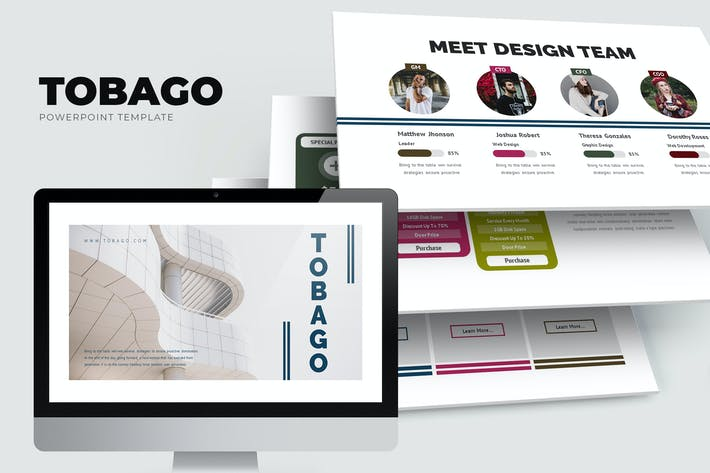 Tobago : Minimal Powerpoint Template