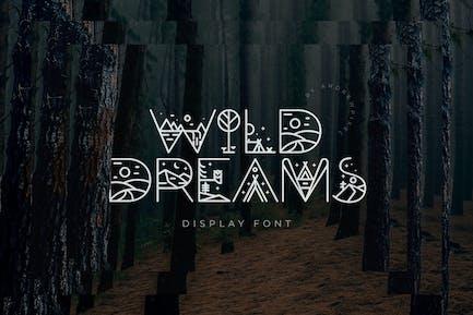 Fuente de visualización Wild Dreams