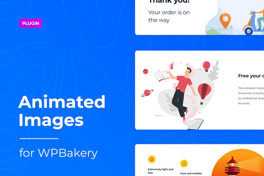Lottie Animated Images for WPBakery