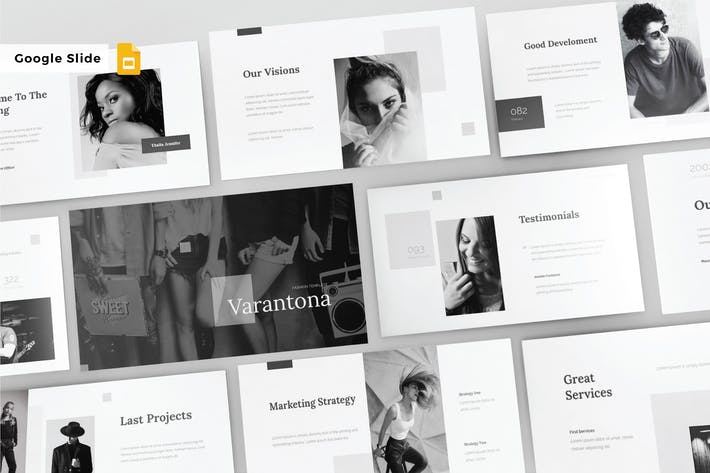 Cover Image For VARANTONA - Google Slide Template V130