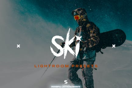 Ski Lightroom Presets - Sports