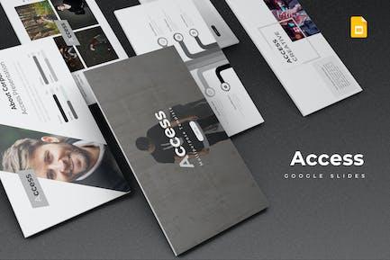 Access - Google Slides Template