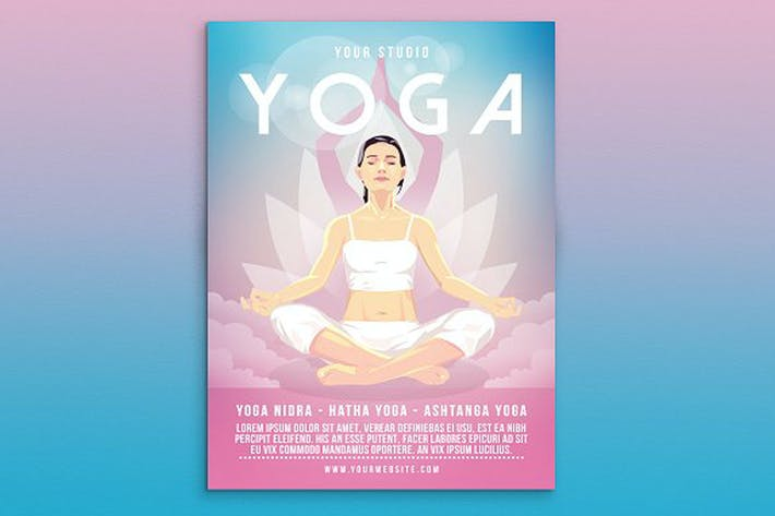 Thumbnail for Yoga Flyer Poster