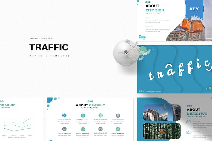 Thumbnail for Traffic | Keynote Template