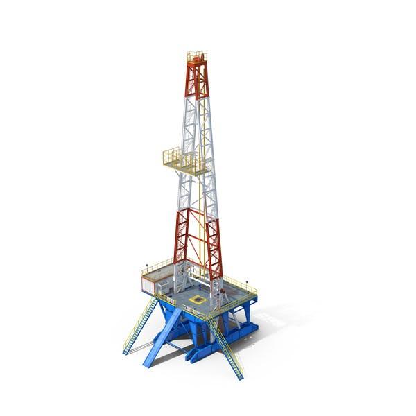 Cover Image for Fracking Gas Platform