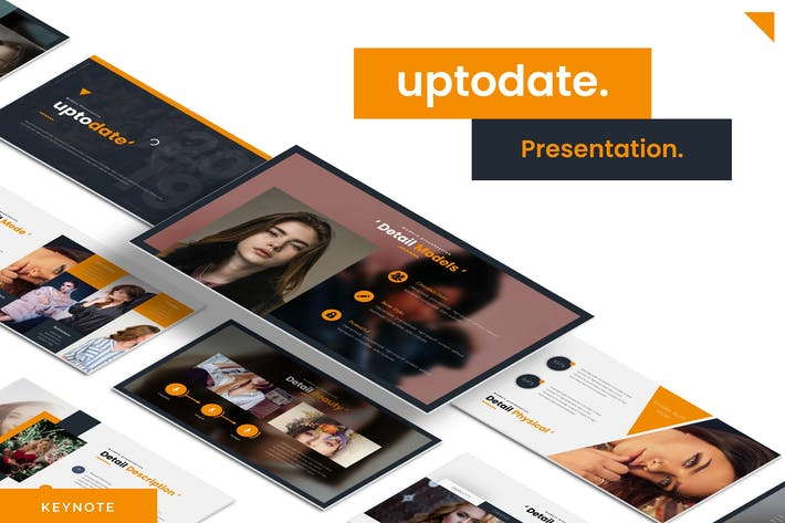 Thumbnail for Uptodate - Keynote Template