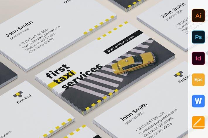 Thumbnail for Такси Услуги визитная карточка