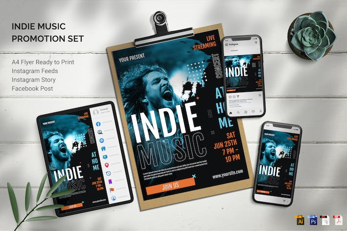 Thumbnail for Indie Music - Promotion Set