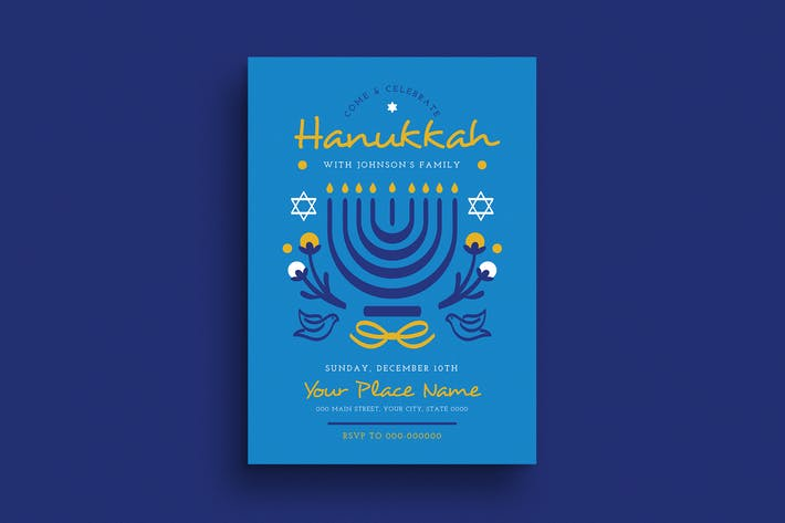 Thumbnail for Hanukkah Event Flyer
