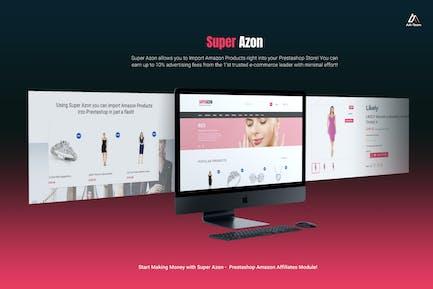 WZone for Prestashop - Amazon Affiliates Module