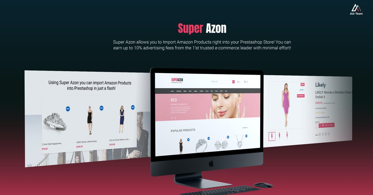 Download WZone for Prestashop - Amazon Affiliates Module by AA-Team