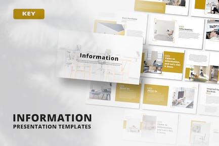 Information - Keynote Template