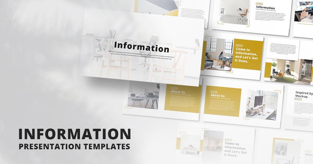 Download Information - Keynote Template by alonkelakon