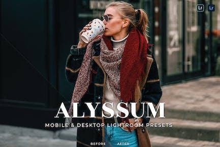 Пресеты Lightroom для мобильных и настольных ПК Alyssum