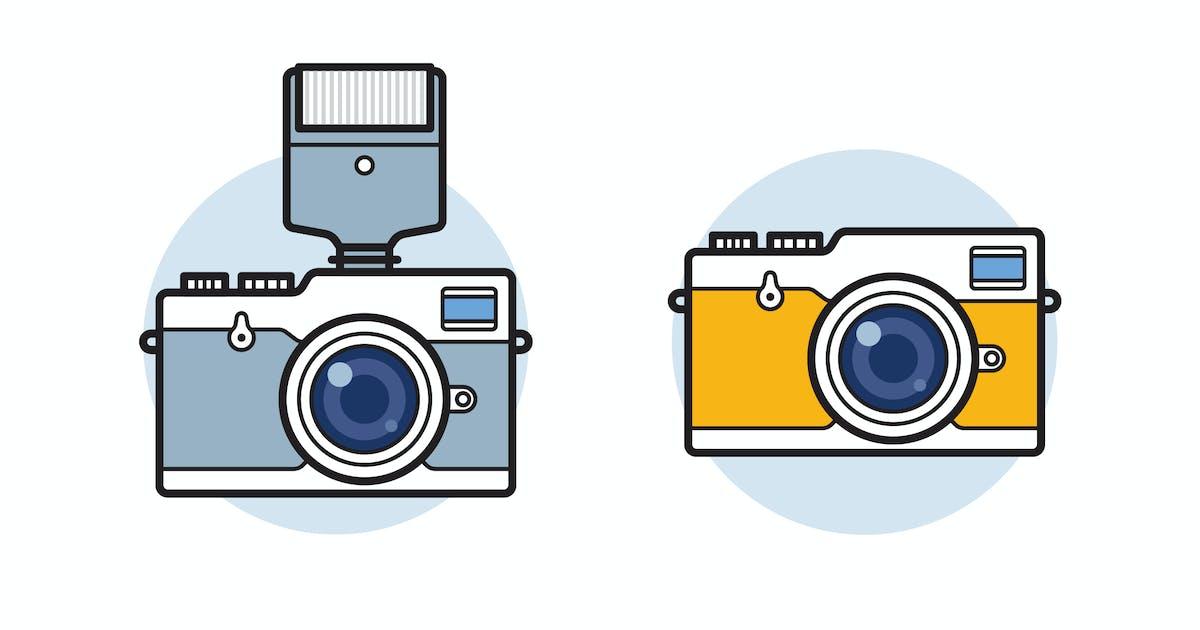 Download Photo camera vector illustration by mir_design