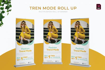 Trend Mode   Roll Up Banner