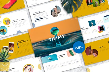 Timmy - Creative Googleslide Templates