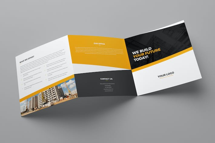 Thumbnail for Brochure – Architecture & Construction Tri-Fold