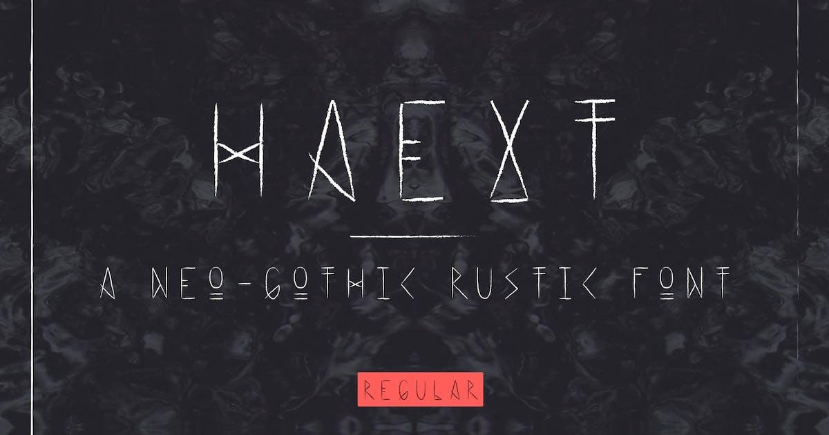 Download Haext Regular by hellomartco