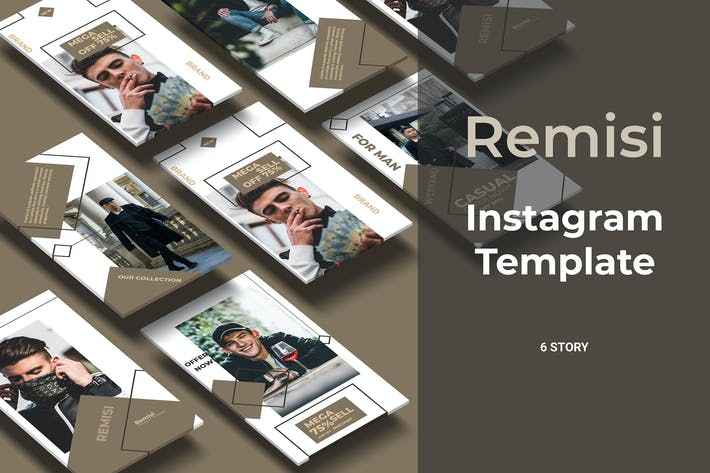 Thumbnail for Remisi - Fashion Social Media Stories Part 7