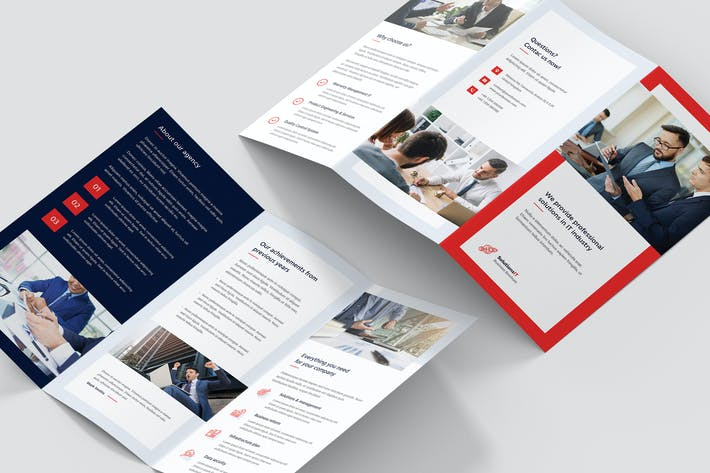 Thumbnail for Brochure – IT Solutions Tri-Fold