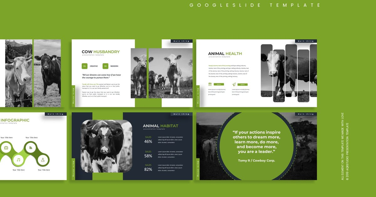 Download Mamalia - Google Slides Template by aqrstudio