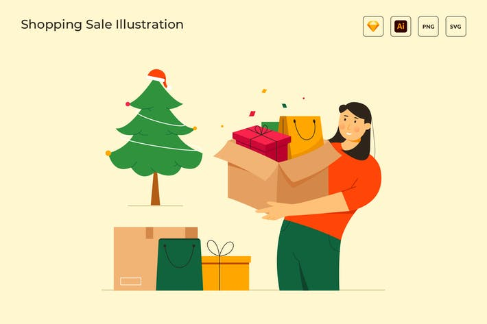 Thumbnail for Spezielle Rabatt-Einkaufs-Verkaufs-Vektor