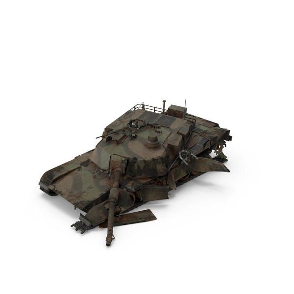 M1 Абрамс уничтожен