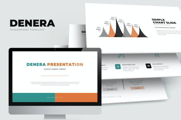 Thumbnail for Denera : Creative Business Powerpoint Template