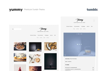 Yummy | Creative Portfolio Tumblr Theme