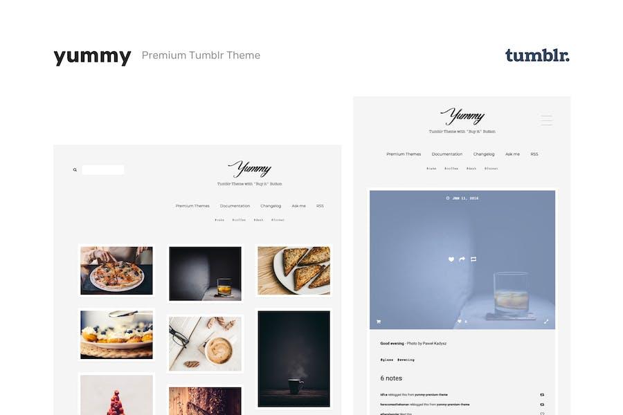 Yummy   Creative Portfolio Tumblr Theme