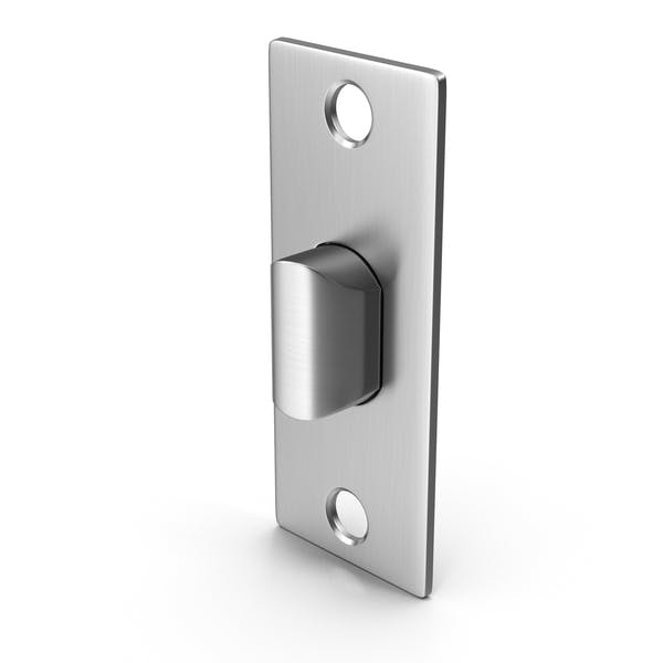 Защелка дверного замка без винтов