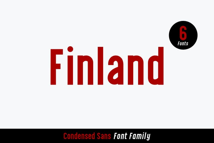 Thumbnail for Finland Font Family