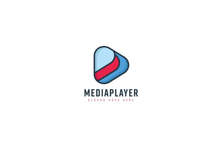 Thumbnail for Media Player Logo Template