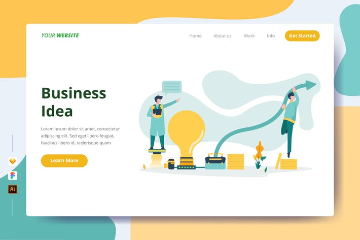Thumbnail for Business Idea - Landing Page