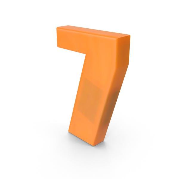 Thumbnail for Number 7 Fridge Magnet