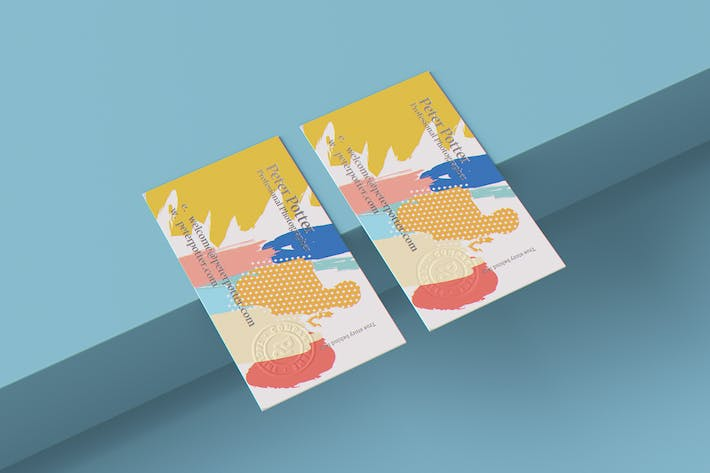 Thumbnail for Business Card MockUp v2