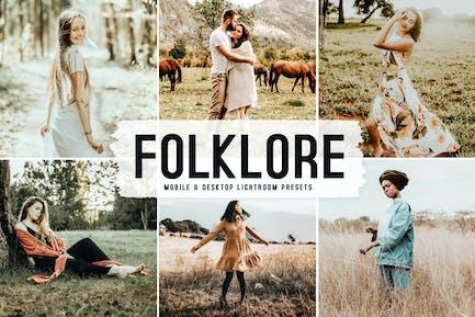 Folklore Mobile & Desktop Lightroom Presets