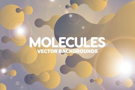 Liquid Molecules Backgrounds