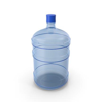 Contenedor de agua vacío