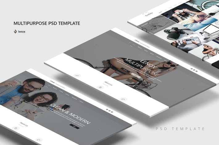 Thumbnail for Multipurpose landing page