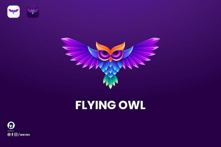 Thumbnail for Flying Owl logo template