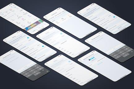 Settings - Wallet Mobile UI - FP