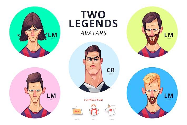 Zwei Legenden