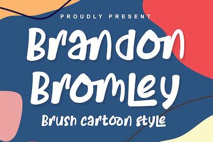 DS Brandon Bromley - Estilo de dibujos animados
